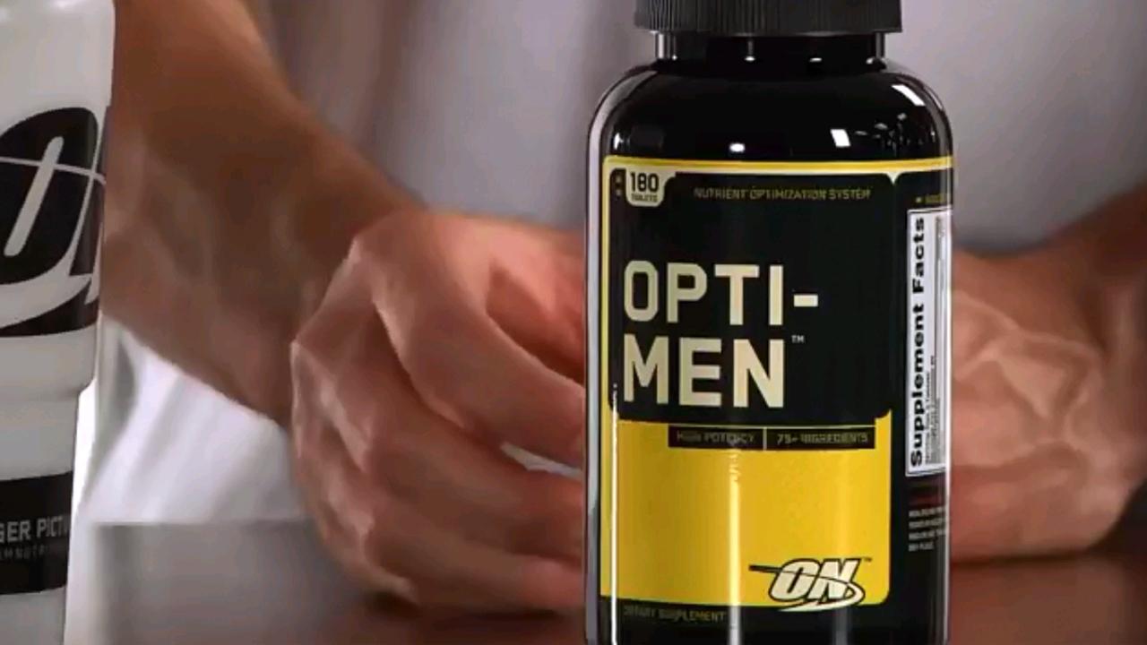 オプティメン (アスリート/男性用 マルチビタミン&ミネラル)