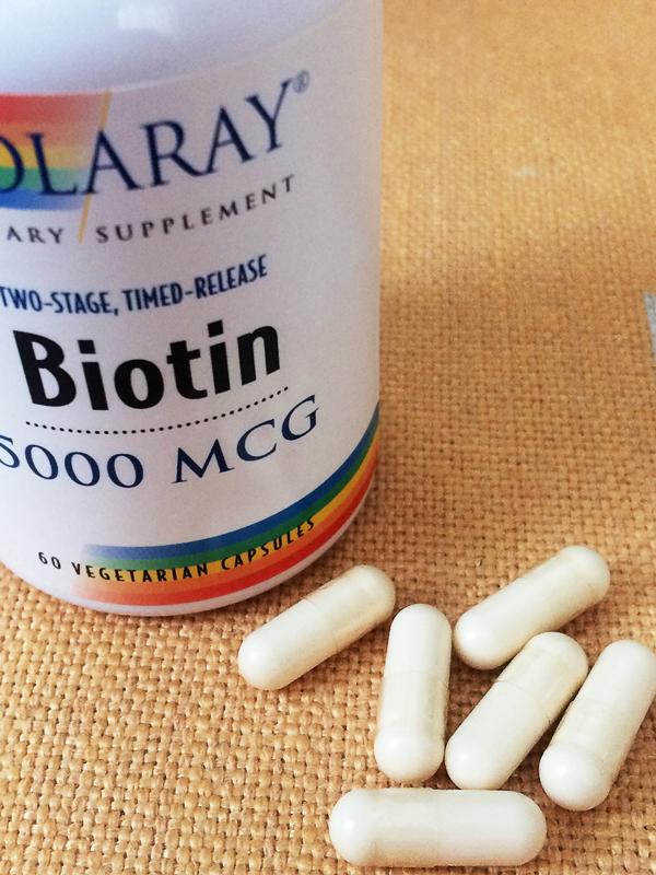 ビオチン(ビタミンH)5000mcg(2段階タイムリリース型)