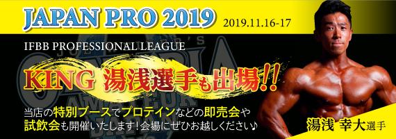 11月16日17日ジャパンプロ開催