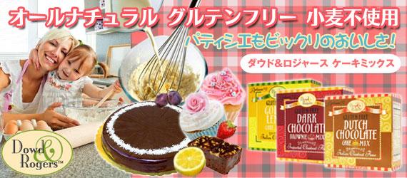 ☆≪販売終了≫ダウド&ロジャース グルテンフリー ダッチチョコレート ケーキミックス
