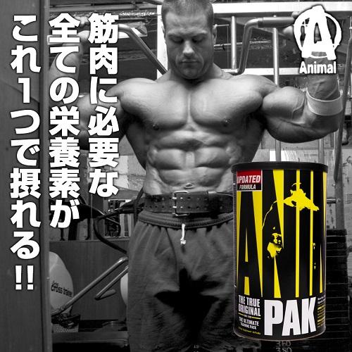 アニマル パック(アスリート用マルチビタミン) 44パック Animal PAK Universal Nutrition