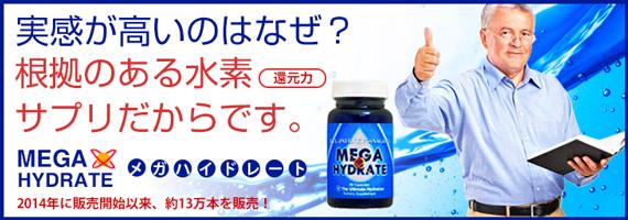 【定期購入あり】 メガハイドレート(水素サプリ)