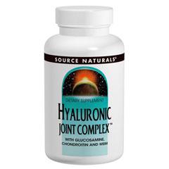 ヒアルロン酸 ジョイント コンプレックス (グルコサミン、コンドロイチン、MSM配合)