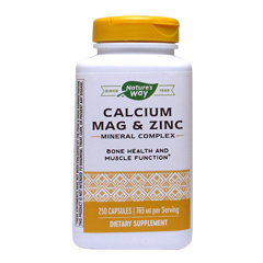 [ お得サイズ ] カルシウム マグネシウム&ジンク