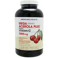 メガ アセロラ プラス 1000mg(天然ビタミンCチュワブル)