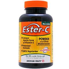 エスターCパウダー +バイオフラボノイド(おなかにやさしい高吸収型ビタミンC)