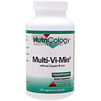 鉄・銅抜きマルチビタミン&ミネラル