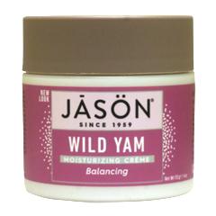 ジェイソンナチュラル バランシング ワイルドヤム ピュアナチュラル モイスチャライジングクリーム
