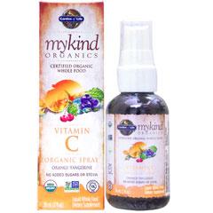 ●マイカインド オーガニック ビタミンC オーガニックスプレー オレンジ-タンジェリン (液体タイプビタミンC)