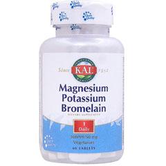 マグネシウム カリウム ブロメライン