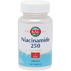 ナイアシンアミド(ビタミンB3) 250mg