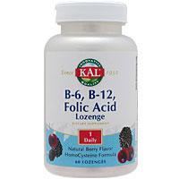 ビタミンB6、B12&葉酸トローチ(ホモシステインバスター)