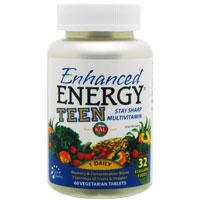 エンハンスト エネルギー ティーン(10代用マルチビタミン&ミネラル)