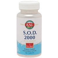 SOD(スーパーオキシドジムスターゼ)