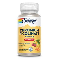 クロミウムピコリネート (ラズベリーレモントローチ) 1000mcg