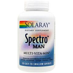 【定期購入あり】スペクトロ マン(80種類以上の成分が凝縮 男性用マルチビタミン&ミネラル)
