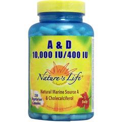 ビタミンA 10000IU & D 400IU