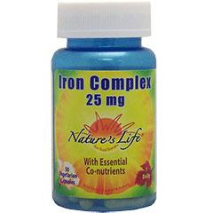 NL 鉄コンプレックス 25mg(高吸収/ビタミンC配合)