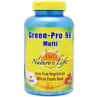 グリーンプロ96 マルチ(緑野菜配合鉄抜きマルチビタミン&ミネラル)