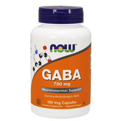 ギャバ GABA 750mg(ベジタリアンカプセル)