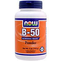 ☆≪販売終了≫ビタミンB50 パウダー(11種類のビタミンB群ミックス)※ベジタリアン仕様