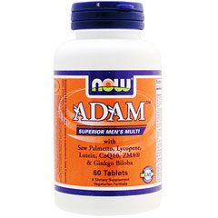 アダム 男性用マルチビタミン&ミネラル タブレット