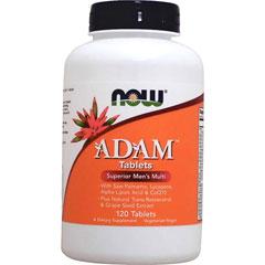 [ お得サイズ ] アダム 男性用マルチビタミン&ミネラル タブレット