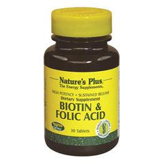 ビオチン & 葉酸 (タイムリリース型)