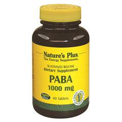 PABA 1000mg (パラアミノ安息香酸/タイムリリース型)