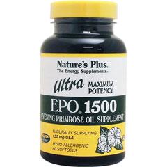 ウルトラEPO 1500(月見草オイル/GLA含有)