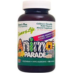 [ お得サイズ ] お子様用 アニマルパレード マルチビタミン&ミネラル ※チェリー、オレンジ、グレープ