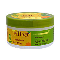 アルバ ココナッツミルク ボディクリーム(100%ベジタリアン素材使用)