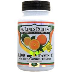 ライナス ポーリング博士のビタミンC 1000mg + バイオフラボノイド
