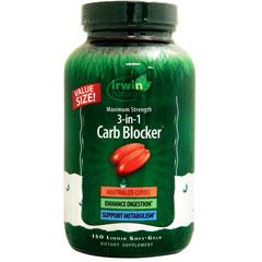 [ お得サイズ ] マキシマムストレングス 3in1 カーボブロッカー(炭水化物ブロック+食後のスッキリ感サポート)