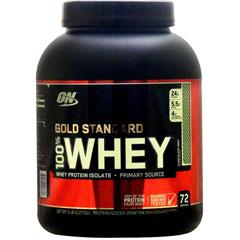 【送料無料】[ 大容量2.3kg ] 100%ホエイ ゴールドスタンダード プロテイン ※チョコレートミント