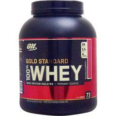 【正規品】[ 大容量2.27kg ] 100%ホエイ ゴールドスタンダード プロテイン ※デリシャスストロベリー