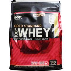 【正規品】[ 超大容量4.5kg ] 100%ホエイ ゴールドスタンダード プロテイン ※バニラアイスクリーム