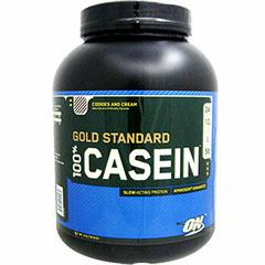 [ 大容量 1.8kg ] 100%カゼイン ゴールドスタンダード プロテイン ※クッキークリーム