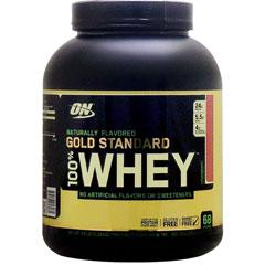 [ 大容量 2.18kg ] 100%ホエイ ゴールドスタンダード ナチュラリーフレーバー プロテイン ※ストロベリー