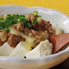 ☆豆腐の肉味噌グラタン