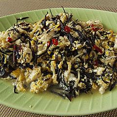 ☆豆腐とひじきの煮物