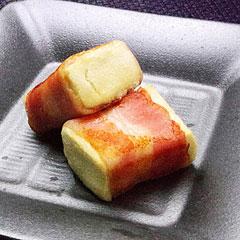 ☆高野豆腐のベーコン巻き