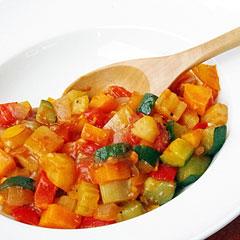 ☆サイコロ野菜のトマト煮