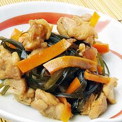 ☆鶏肉と刻み昆布のうま煮