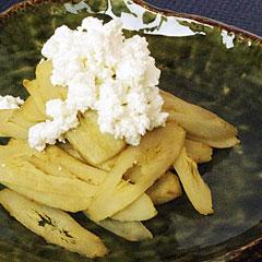 ☆ごぼうのカッテージチーズサラダ