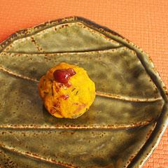 ☆かぼちゃ小豆茶巾