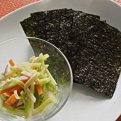 ☆ブロッコリー茎のヨーグルトサラダ
