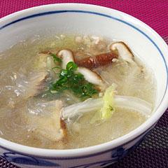 ☆白菜と生姜のはるさめスープ