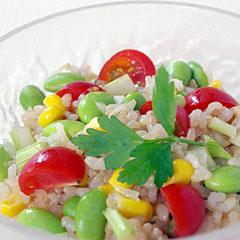 ☆玄米サラダ