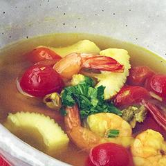 ☆シーフードのエスニックスープ